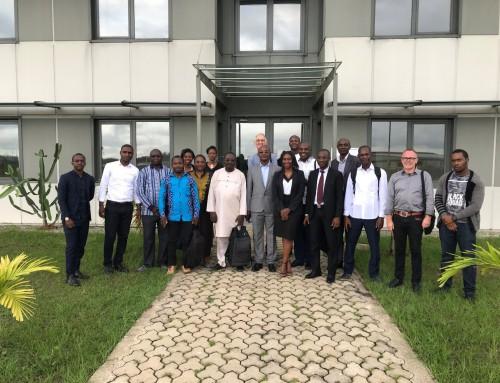 Training workshop in Gabon