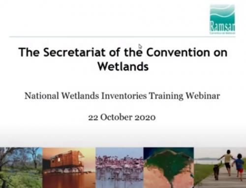 Ramsar webinars on national wetland inventorying